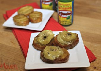 Spicy Banana Bruchetta is Perfect For Morning Football Games.