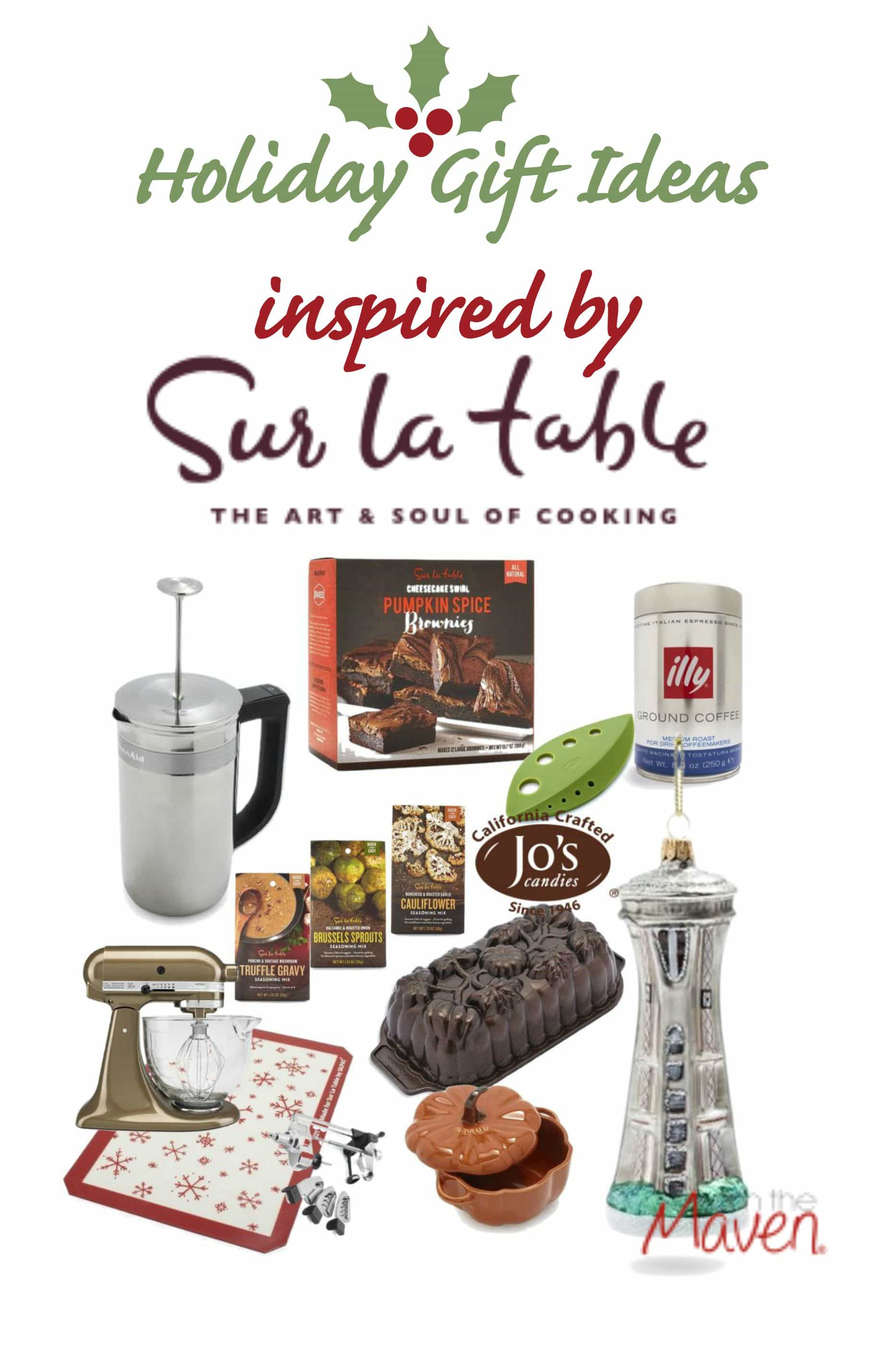 Holiday gift ideas from sur la table and kitchen aid i for Christmas gift ideas from the kitchen