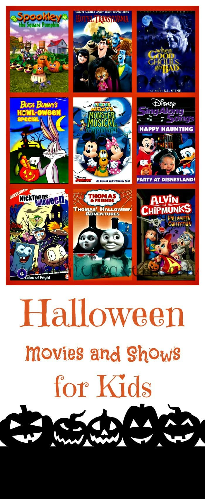 halloween movies and shows for kids | i am the maven®