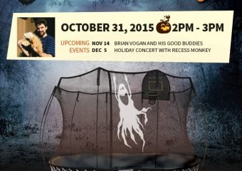 Halloween Party at Springfree Trampoline, Issaquah!