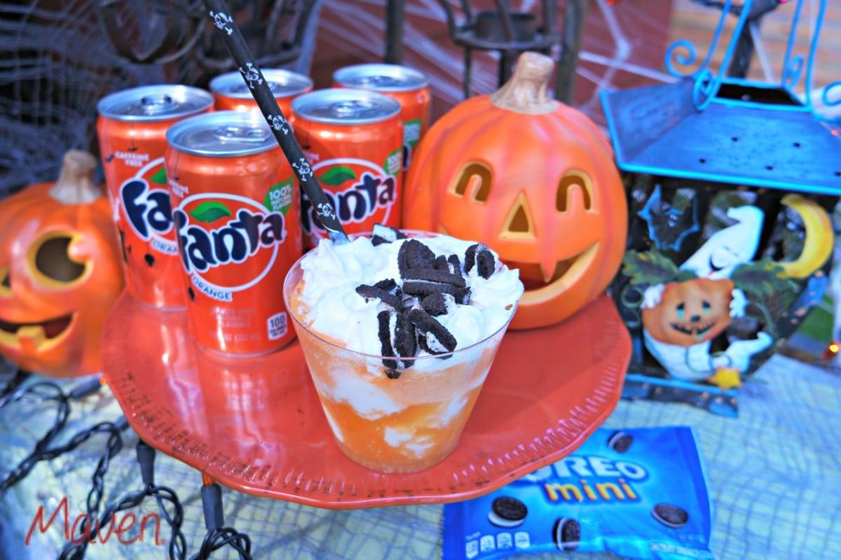 Easy Halloween Snacks for Kids #SpookySnacks AD