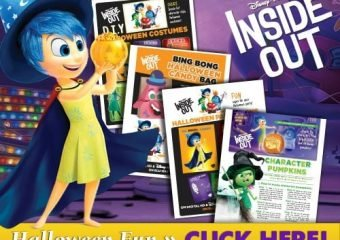 Halloween Fun Activities Inspired by Inside Out