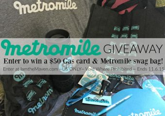 Learn about Metromile car insurance, win a $50 gift card plus some swag!