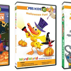 Three new PBS Kids DVDS offer Spook-Tastic Halloween Fun!