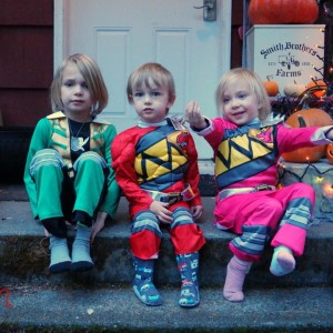 Power Rangers Costumes for Halloween!