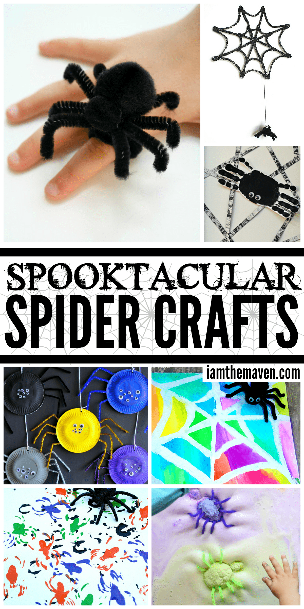 Spider Crafts for Kids