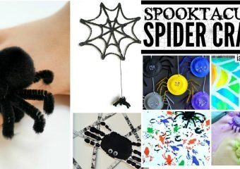 EEK!!  Check Out These Spider Crafts for Kids