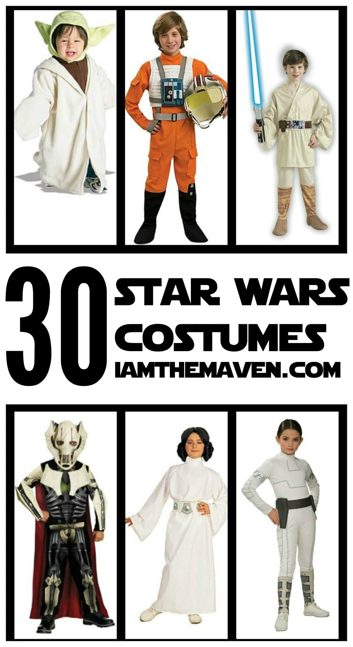 A galactic collection of Star Wars costumes just in time for Halloween