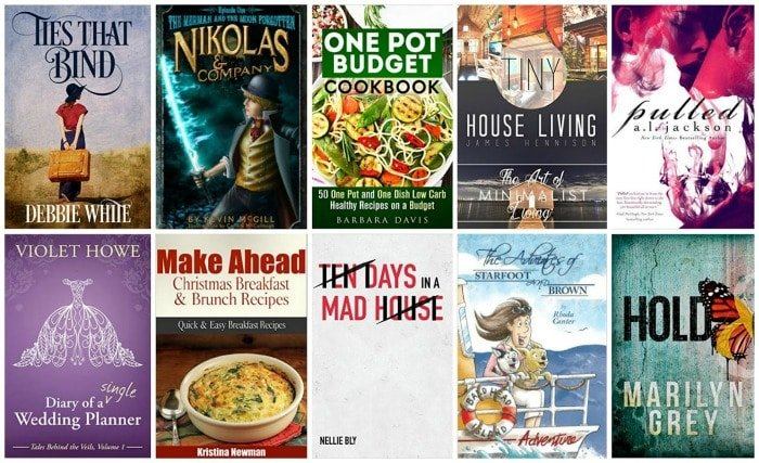 10 Free Kindle Books 11 30 15
