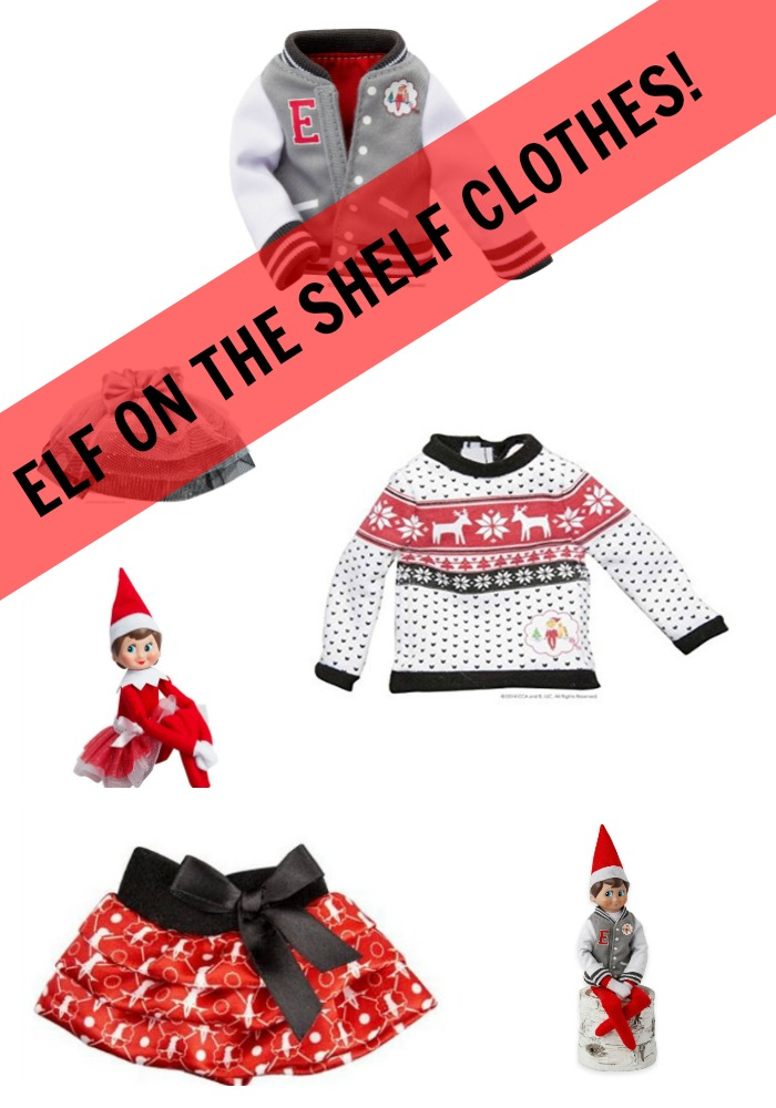 clothing for elf on the shelf