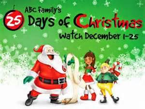 Full Movie Schedule For ABC Family's 25 Days of Christmas 2015