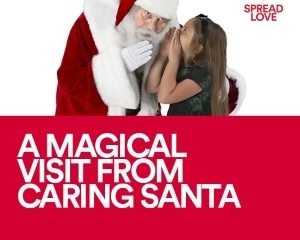 Have a Special Needs Child? Caring Santa is Northgate and other Simon Malls