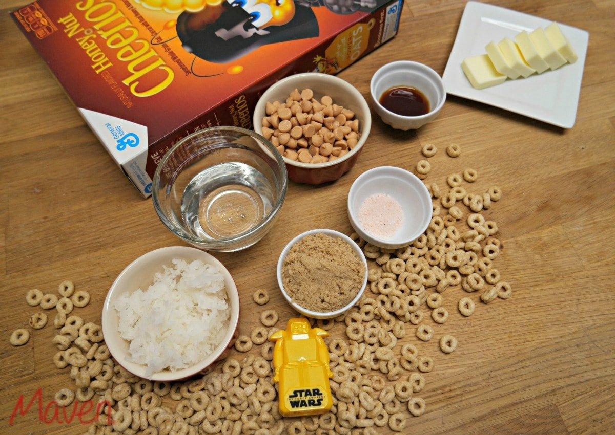 Easy cereal bar ingredients #FoodAwakens AD
