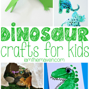 Dinosaur crafts for kids!