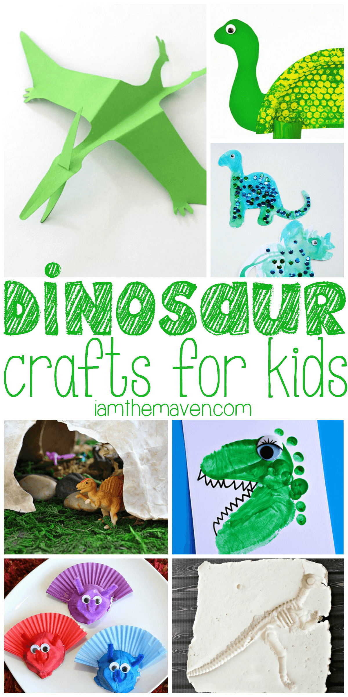 Get ready for disney 39 s the good dinosaur with these for Dinosaur crafts for toddlers