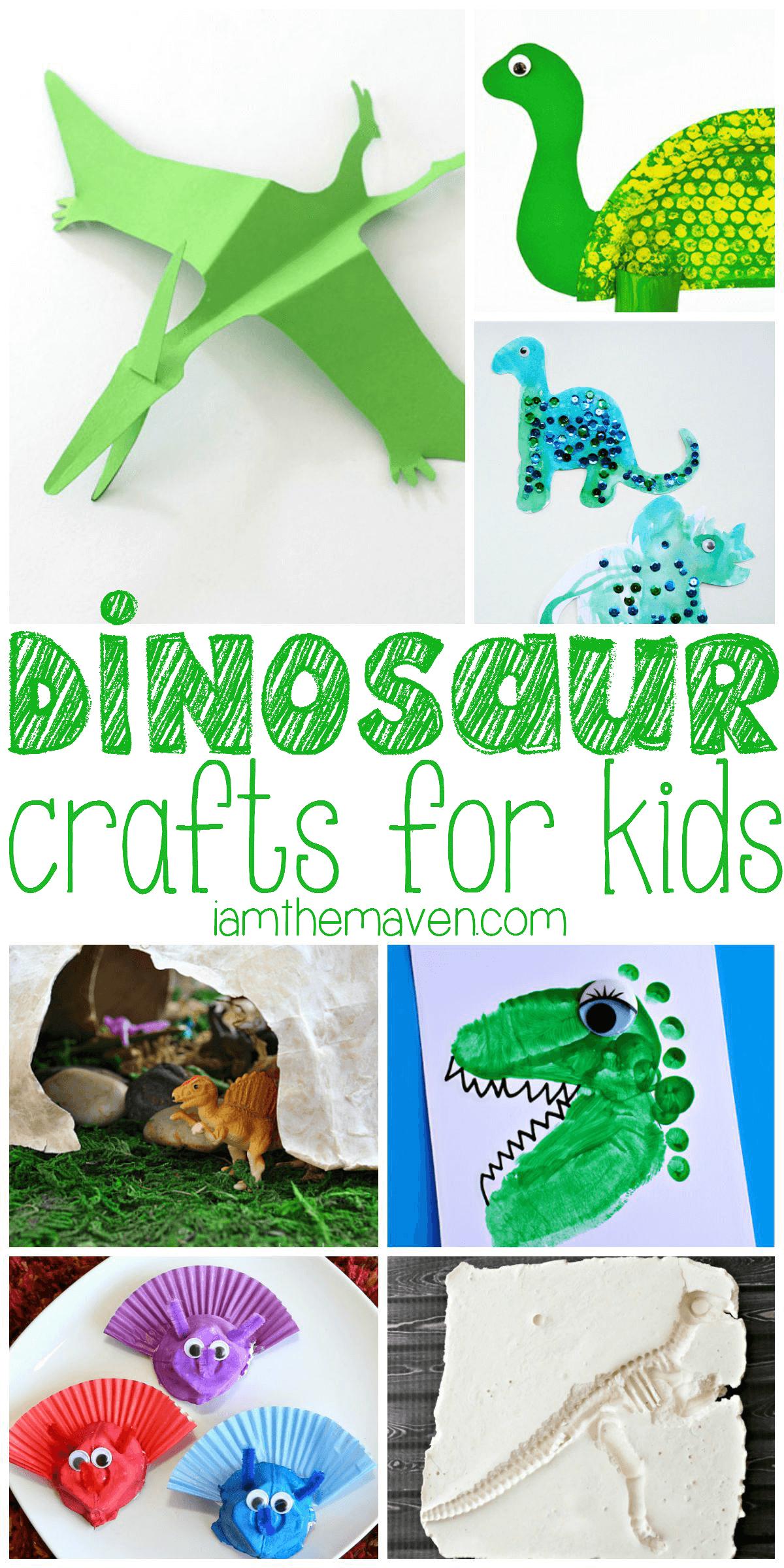 Dinosaur crafts for kids!