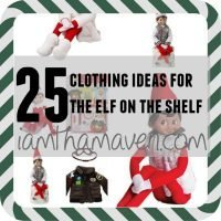 Don't let your Elf on the Shelf be caught in the same clothes as last year! Update their wardrobe today!