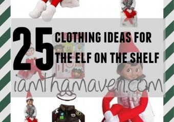 Does Your Elf Need Elf on the Shelf Clothes?