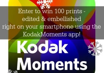 Check out the KodakMoments app {plus a giveaway}