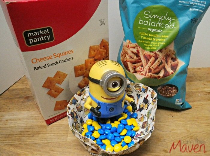 Minons Movie Snacks Mix #MinonsMovieNight AD