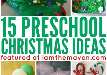 Try these fun preschool Christmas ideas!