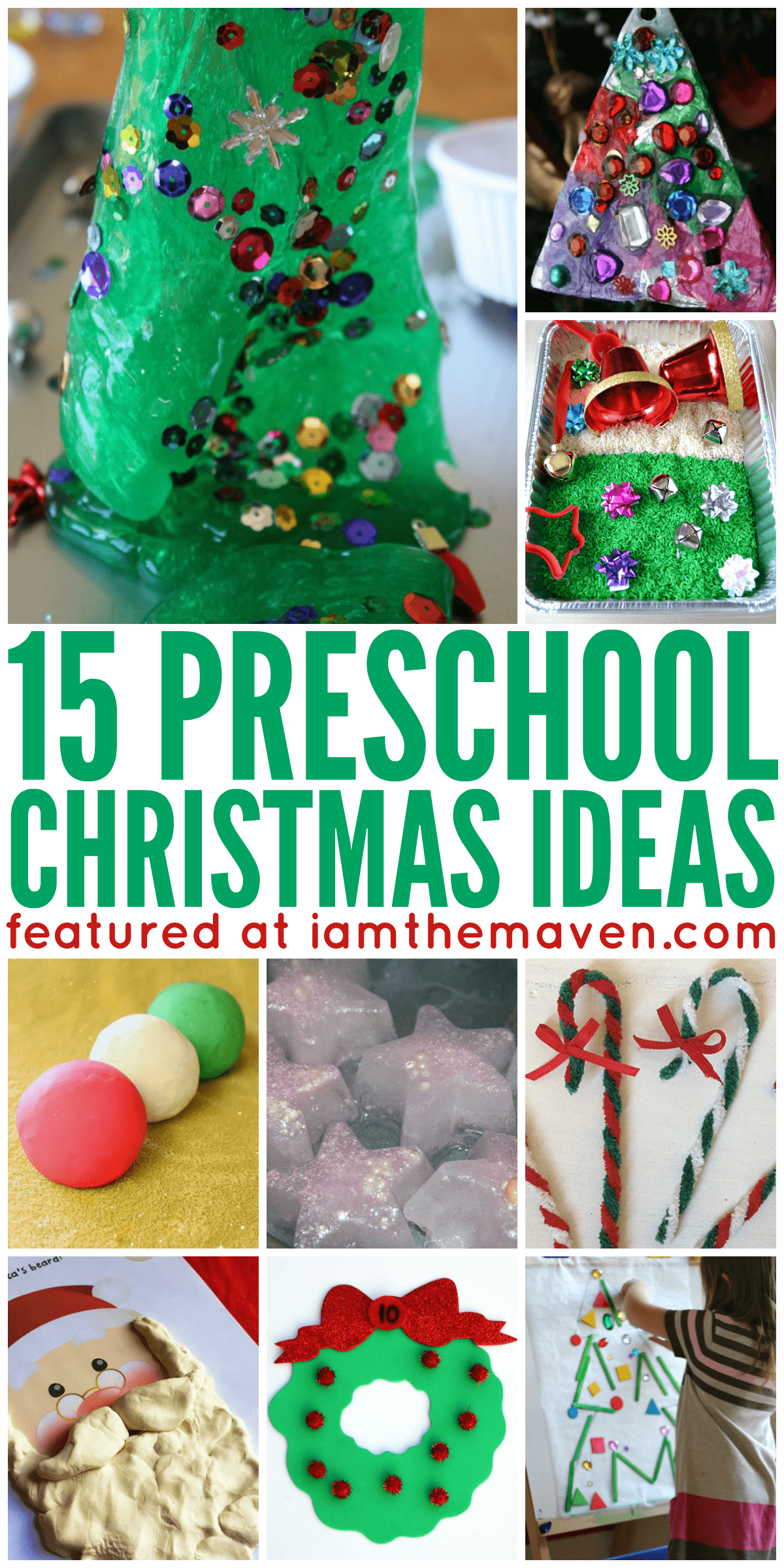Try these fun preschool Christmas ideas!