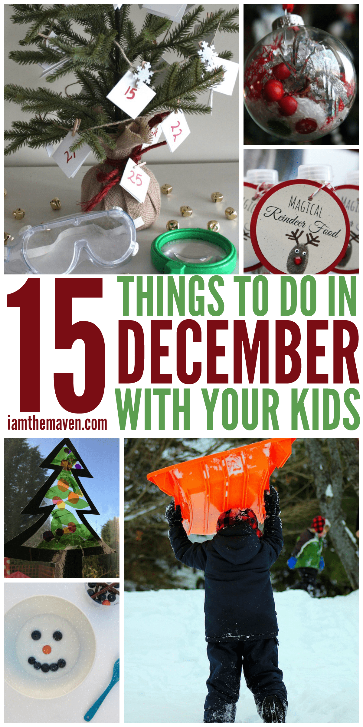 15 Things to Do in December with Kids