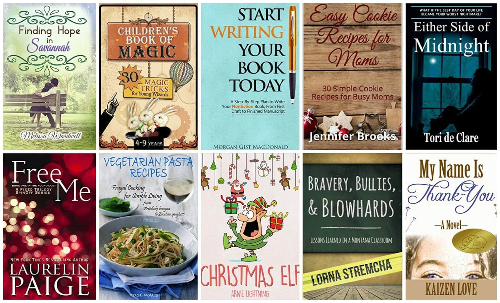 10 Free Kindle Books 12-4-15
