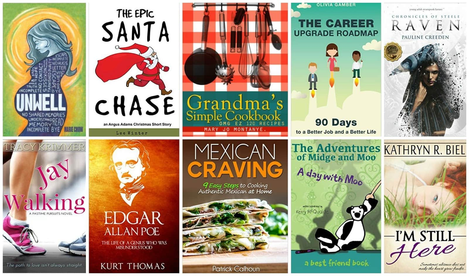 10 Free Kindle Books 12-7-15