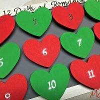 Discover the 12 Days of Romance {plus a romantic advent calendar tutorial} #KYTrySomethingNew AD