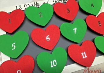 Discover the 12 Days of Romance {plus a romantic advent calendar tutorial}