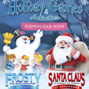 Original Christmas Classics Anniversary Collection – Fun Activities!