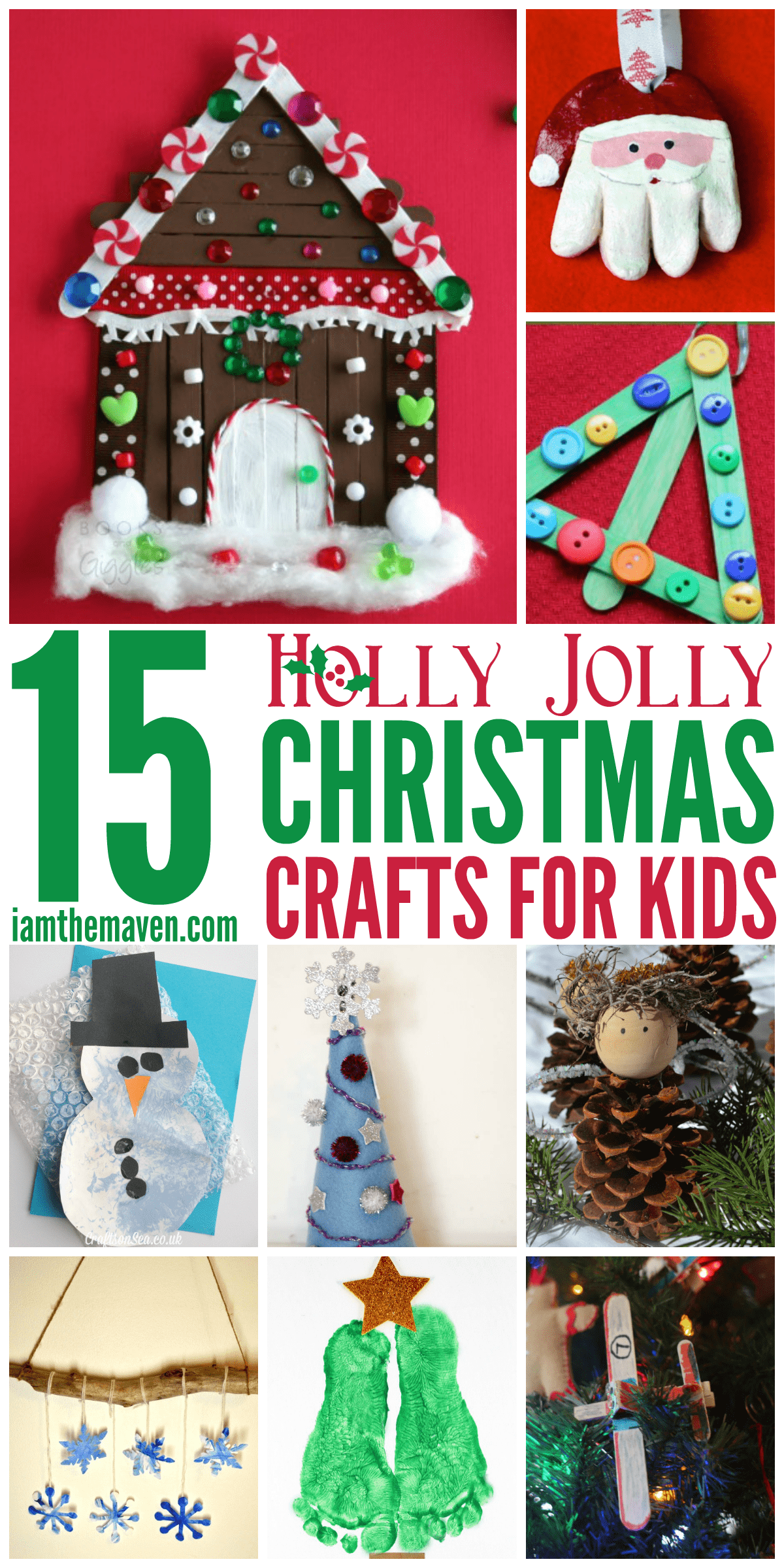 You'll love these Christmas Crafts for Kids