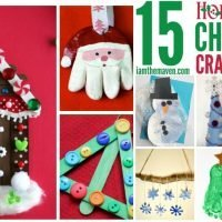 Don't miss these adorable and fun Christmas crafts for kids!