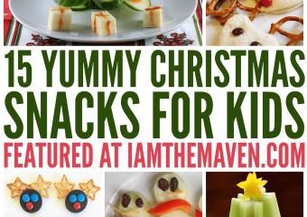 15 Yummy Christmas Snacks for Kids