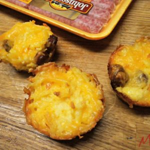 Sausage Hash Brown Muffin Cups