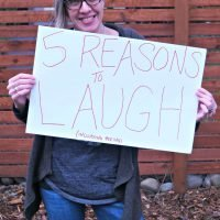 It's okay. Life is funny. Here are 5 reasons to laugh. #LadiesWithPoise