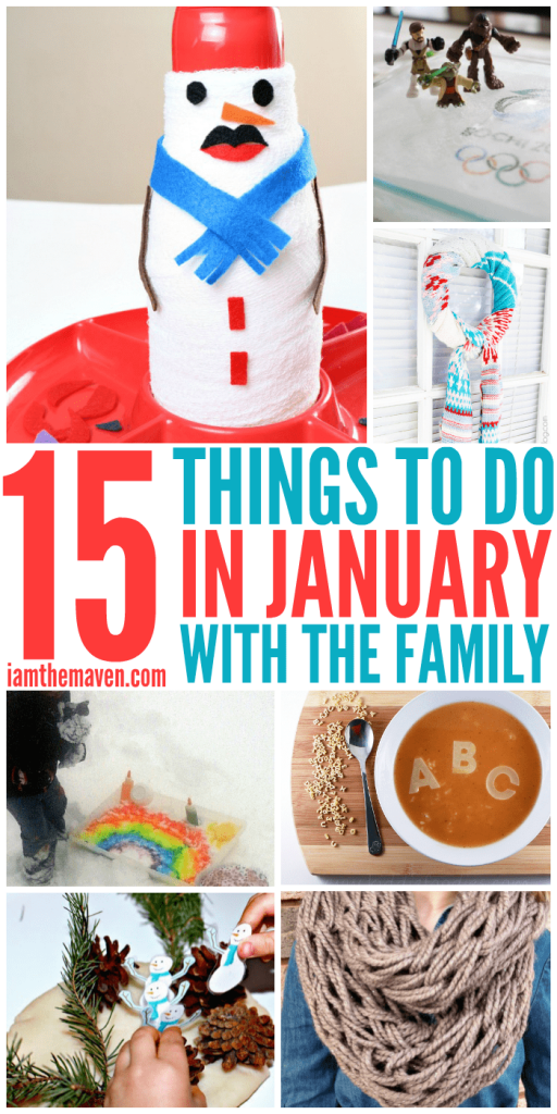 Things to do in January with Family