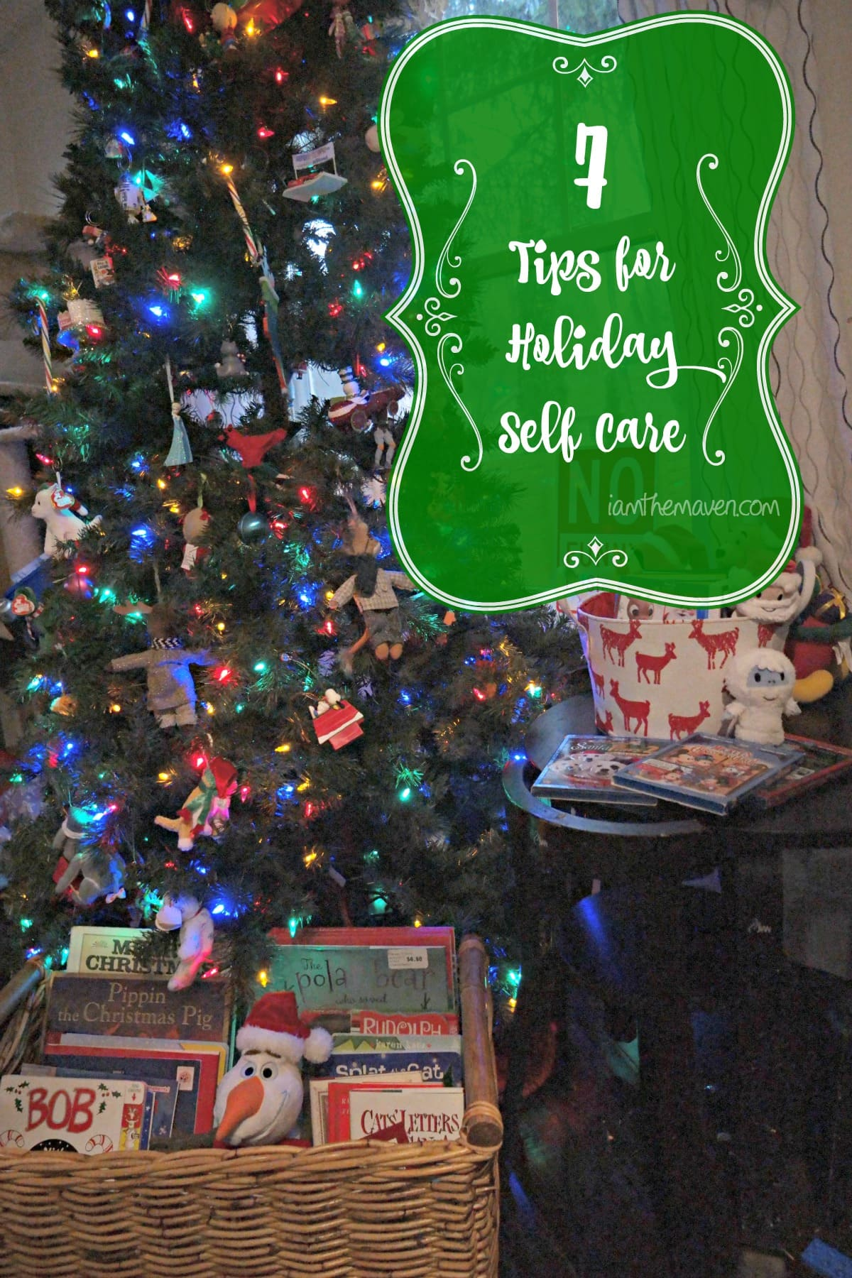 Don't let the holidays overwhelm you. Here are 7 steps for Holiday Self Care. #HolidayGlow AD