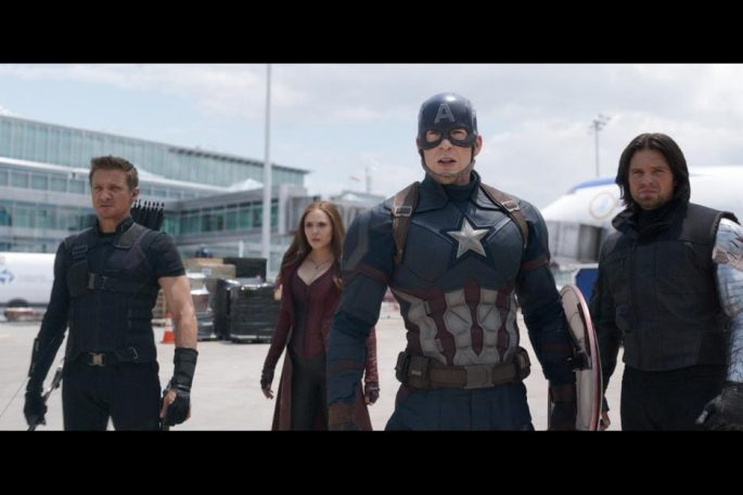 May 6, 2016 – Captain America: Civil War