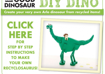 Join me! THE GOOD DINO Recyclosaurus Contest!