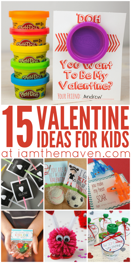 Try these fun Valentine Ideas for Kids!