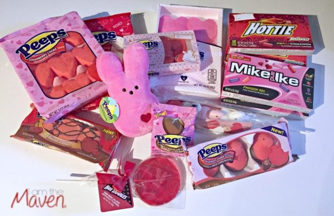 Check out this awesome assortment of Valentine's Peeps!
