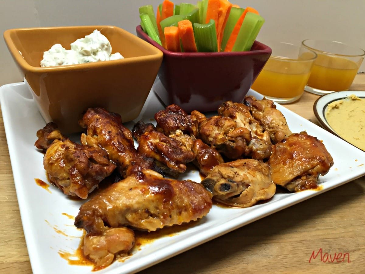 These  BBQ Crockpot Wings are so easy to make - and they are delicious too!