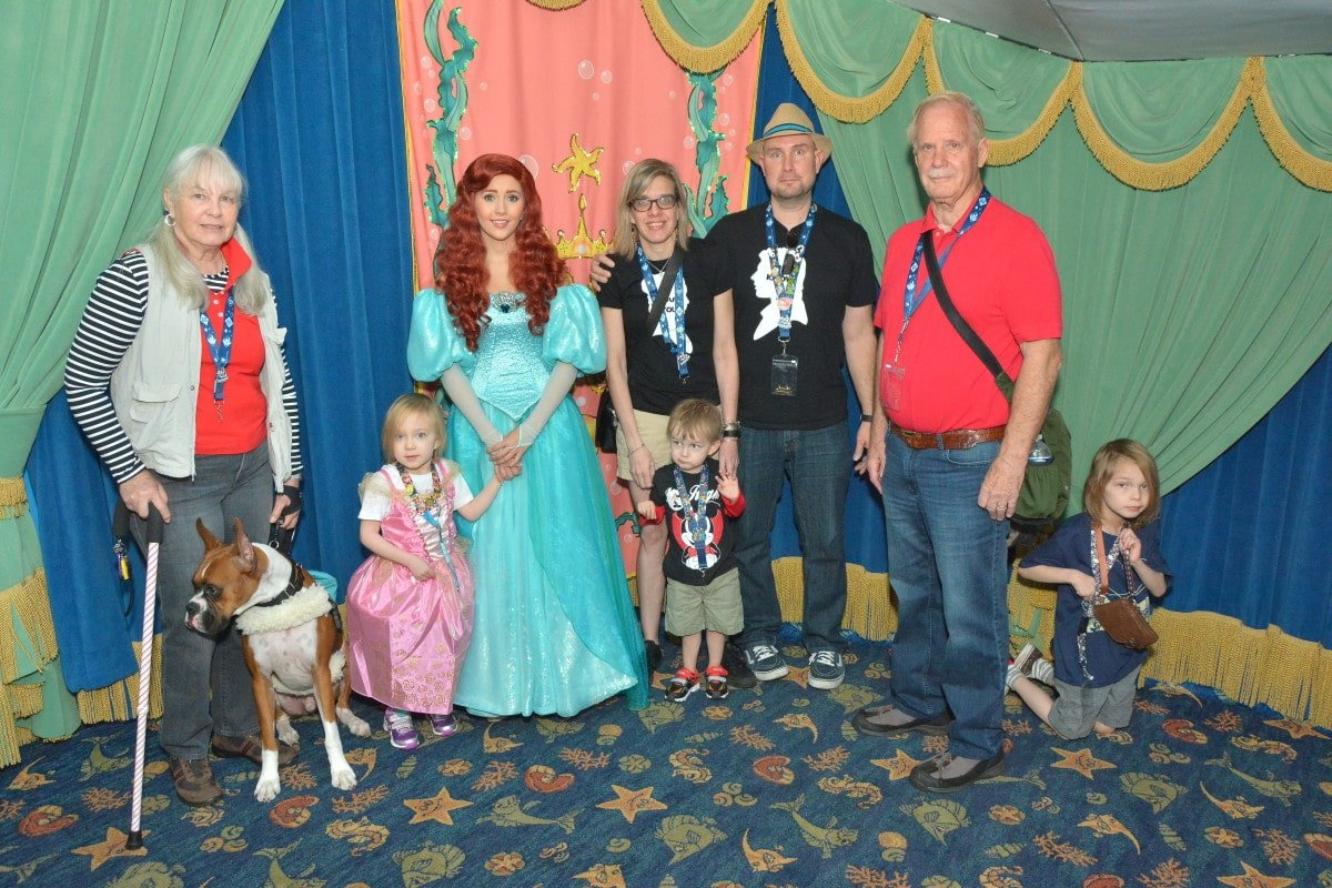 Breakfast at Ariel's Grotto #DreamBigPrincess #InspireBigDreams AD