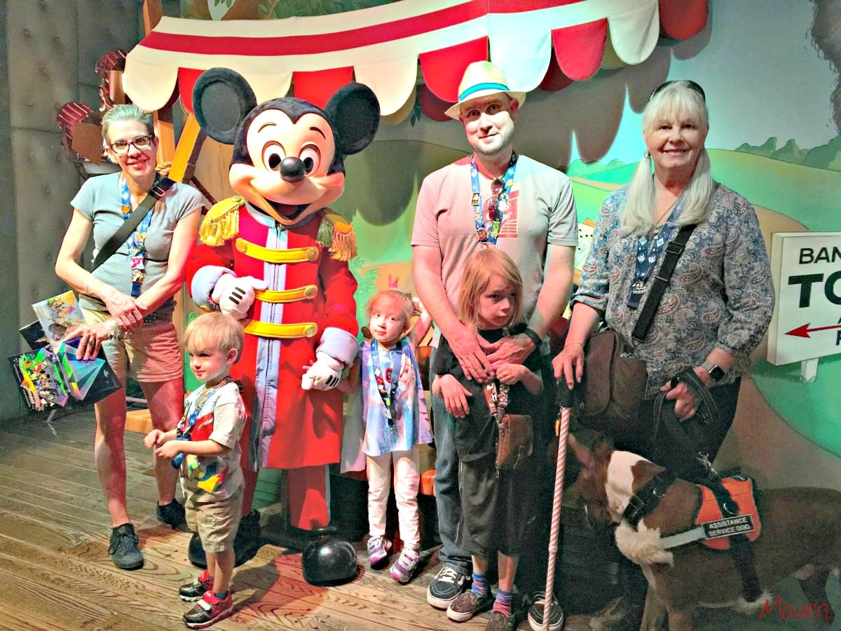 Meeting Mickey- Maven
