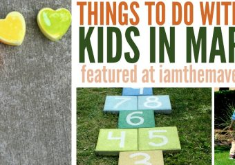 Things to do wit kids in March