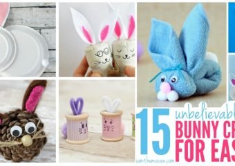 Unbelievably CUTE Bunny Crafts!