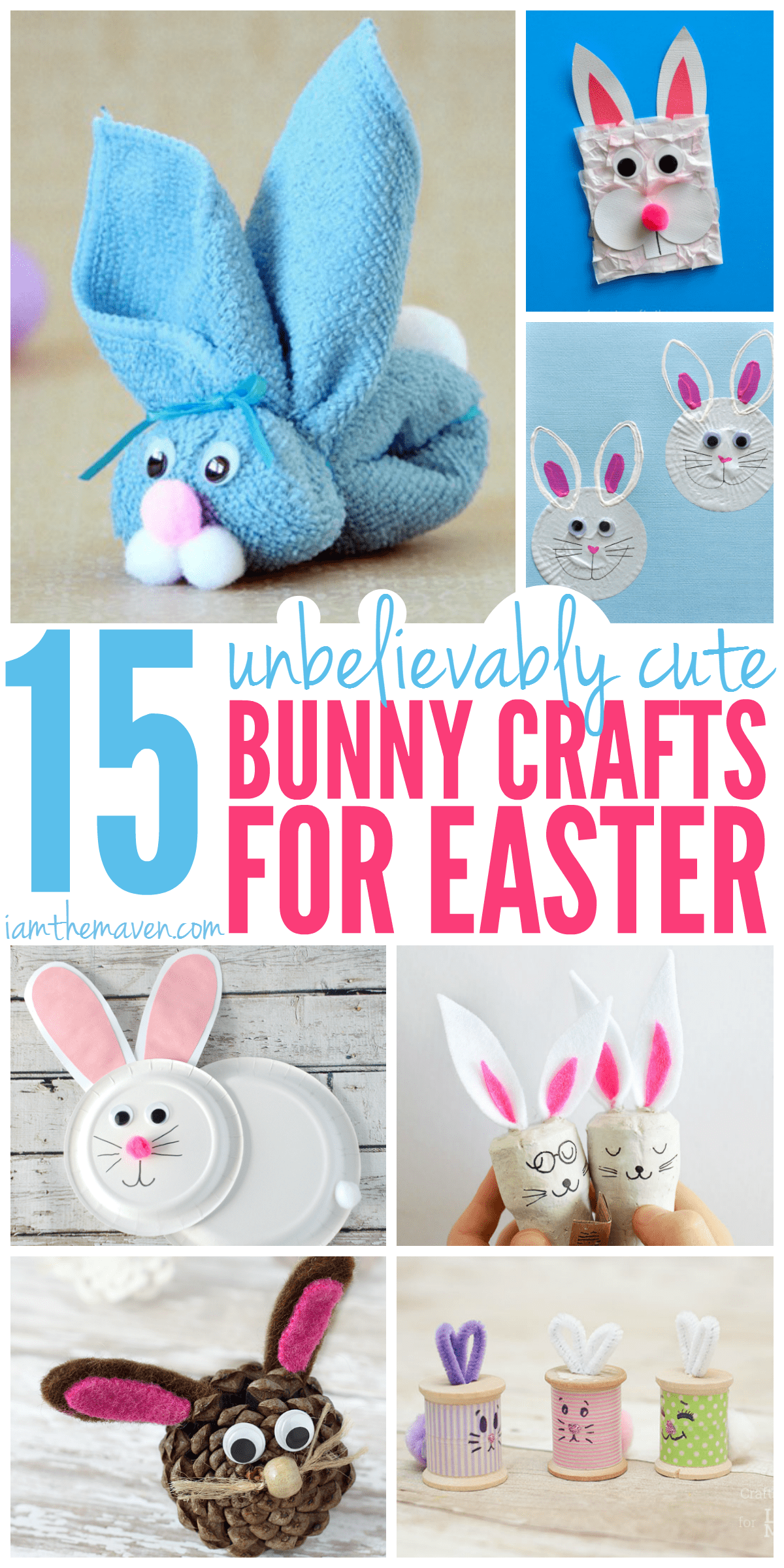 You will adore these unbelievably cute bunny crafts!