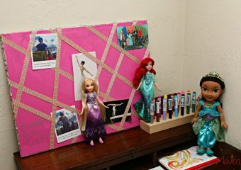 Quincy's Disney Princess Vision Board Inspires Her to Dream Big!
